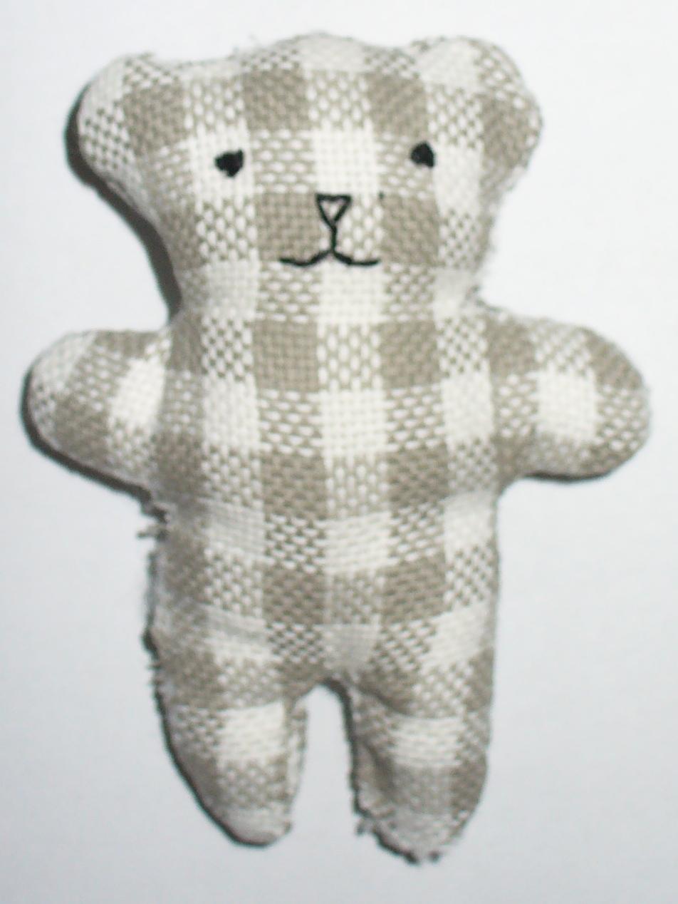 tessuto di peluche per realizzare orso