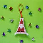 Decorazioni a Punto Croce per Albero di Natale