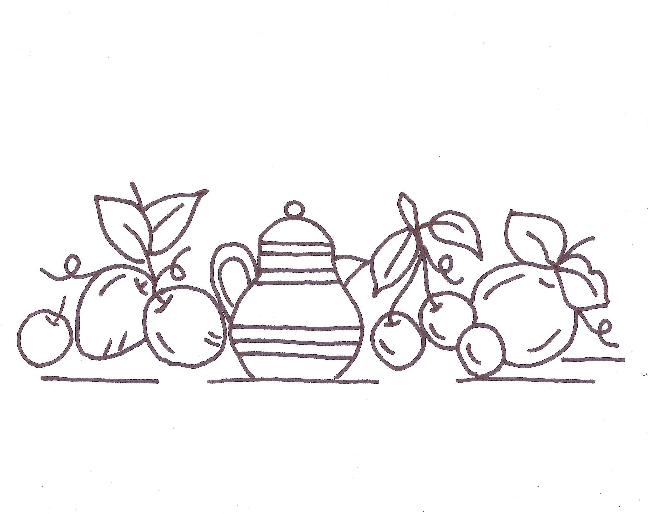 Conosciuto Come Ricamare Strofinacci per la Cucina – Arte Del Ricamo NO36