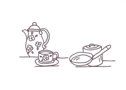 disegni di ricamo per cucina