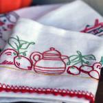 Come Ricamare Strofinacci per la Cucina