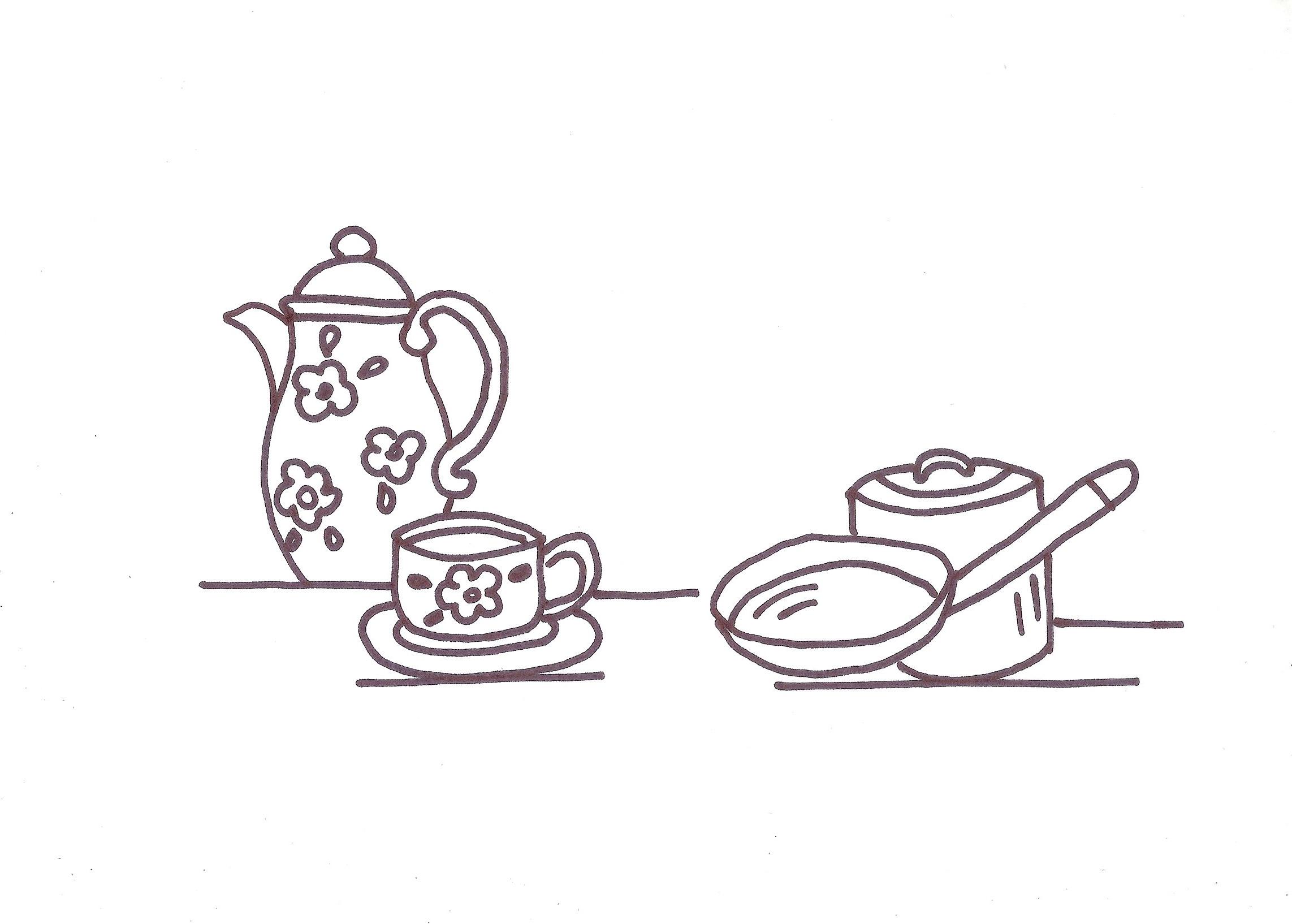 Come ricamare strofinacci per la cucina arte del ricamo - Disegni per cucina ...