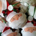 Decorazioni in Feltro – Babbo Natale