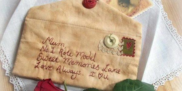 Regalo per la Mamma – Una Busta da Ricamare