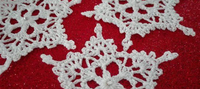 Uncinetto – Come Creare Fiocchi di Neve Natalizi