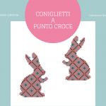 Coniglietti a Punto Croce