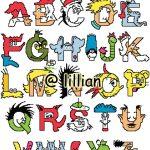 L'Alfabeto a Punto Croce di Dr Seuss