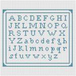 Mini Alfabeto a Punto Croce